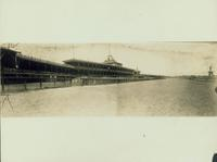 Gravesend: Brooklyn Jockey Club and Gravesend [Race] Track, opened in 1887, south of Kings Highway, east of Gravesend Avenue, undated.