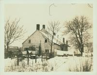 Gravesend: C. Lake House, built 1820, east side of Van Sicklen Street at [between?]  Village Road South and Neck Road, 1923. View looking west. Demolished by 1937.