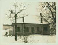 Gravesend: C. Lake House, built 1820, east side of Van Sicklen Street at [between?]  Village Road South and Neck Road, 1923. East view. Demolished by 1937.