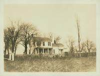 Gravesend: B. Ryder House / E.H. Ryder House, east side of Ryder Avenue (formerly Ryder's Lane) in the vicinity of E. 29 Street, 2 blocks north of Avenue S, April 1923.