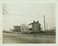 "Gravesend: Captain Charles G. Lutz House, northwest corner of Avenue U and Nostrand Avenue, 1923. Called ""Fort Lutz."""
