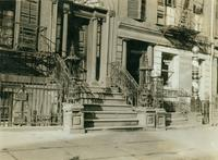 Lower Manhattan: 143-145 Hudson Street between Beach Street and Hubert Street, undated.
