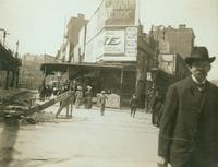Greenwich Village: southwest corner of W. 4th Street and Cornelia Street, undated.