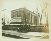 Flushing: Flushing Institute, Amity Street, between Main and Union Streets, 1924.