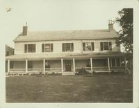 Flushing: Captain John Aspinwall Home, 189 Broadway [i.e. Northern Boulevard], south side, 100 feet east of Union Street, 1924.
