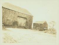 Flushing: Ditmas Stoothoff barns, Black Stump Road, south side, east of Fresh Meadow Country Club, 1922.