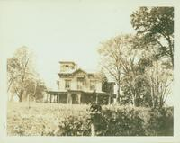 Flushing: Captain J. Graham House [later E. Platt Stratton),  west side of 13th Street (College Point Road), south of 9th Avenue, College Point, 1922. Demolished 1924.