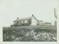 Flushing: yellow double house on Rocky Hill Road (48th Avenue) and Storm Street, Bayside, undated.