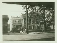 Jamaica: Colonial Hall, south side of Jamaica Avenue, 1922. Demolished 1923. Stewart Building stood north of this site.