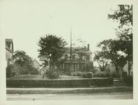 Jamaica: Amos Harris House, east side of Van Wyck Avenue about 200 feet north of Chichester Avenue (95th Avenue) 1922.