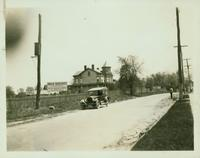 Jamaica: D. Ketcham House, on grounds bounded by Hollis Avenue, Atlantic Avenue, and 193rd Street (new Hollis Depot), 1922.