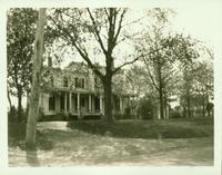 Jamaica: Charles J. DeBevoise House, south side of Hollis Avenue east of 198th Street (Irvington Avenue) at about 199th Street, Marian [?] Park, 1923.
