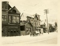 Newtown: west side of Broadway, south of Maurice Avenue, 1922.