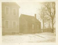 Newtown: 44 Columbus Avenue [i.e. Columbia Avenue], north of Rail Road Avenue [unreadable] west corner of Clinton Street, Winfield, 1924.