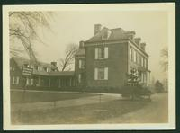 Bronx: Frederick Van Cortlandt House, built 1748, near Van Cortlandt Park between Broadway and the New York & Boston railroad tracks, 1924.