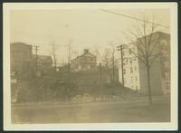 Bronx: Former St. Matthew's Church (1879), Mosholu, west side of the Albany Post Road (Newton Avenue) around w. 246th Street, 1924.