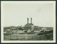 Bronx: Hall of Fame for Great Americans, seen on elevation, West 180th Street between Sedgewick Avenue and Aqueduct Avenue, and Powerhouse, 1923.
