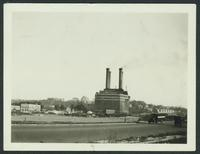 Bronx: Hall of Fame for Great Americans, seen on elevation, West 180th Street between Sedgwick Avenue and Aqueduct Avenue, and Powerhouse, 1923.