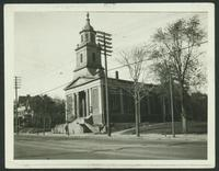 Bronx: Fordham Manor Reformed Dutch Church, north side of Kingsbridge Road opposite Aqueduct Avenue, east of University Avenue, 1923.
