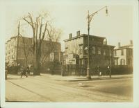 Bushwick: A.A. Leverich House, southwest corner of Bushwick Avenue and Gates Avenue, 1923.