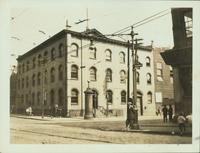 Bushwick: 7th Precinct Police Station House, north east corner of Greenpoint Avenue and Manhattan Avenue, Greenpoint, 1923.