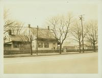 Flatlands: 1754 Flatbush Avenue, Stoolhoff-Duryea House, at the junction with Avenue J and E. 35th Street, 1923.