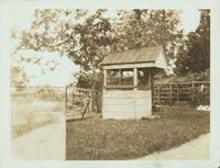 Flatlands: well at the Derrick Remsen House, south side of New Lots Road  [unreadable] of Church Avenue, 1922.