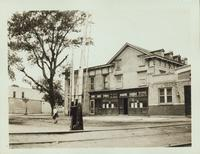 Flatlands: Henry Lehman's Canarise Hotel and Railroad Station, northeast corner of Conklin Avenue and E. 95th Street, Canarsie, 1922.