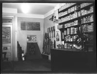 Brooklyn [?]: interior of Lenox Sport Shop, [767 Flatbush Avenue?], undated.
