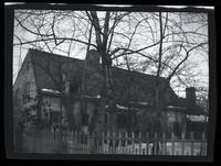 Flushing: [John Bowne House, east side of Bowne Avenue, nearly opposite Washington Street, north of Liberty Street, 1922. Built 1661.]