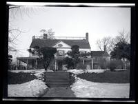 Flushing: [Embree (?) House, later W.R. Prince House, 20 Bridge Street, north side, east of Laurence Street, undated.]