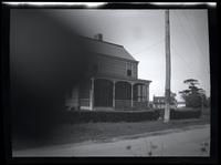 Jamaica: Bernardus Henderson House, north side of Old South Road, several hundred feet west of Lincoln Avenue, 1922.