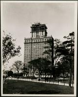 New York City: Whitehall Building, 17 Battery Place, Battery Park, ca. 1910, 1-14 West Street addition under construction.