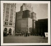 New York City: 10-12 Broadway (New York Produce Exchange Bank) becoming an addition to 26 Broadway (Standard Oil Building), 1923.
