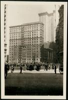 New York City: 19 Broadway, 1908. 61 Broadway visible in the background.