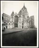 New York City: Broadway Tabernacle, Broadway and 56th Street, 1908.