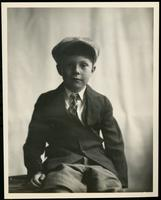 New York City: Alfred Funck (little boy), 1926. Studio portrait.