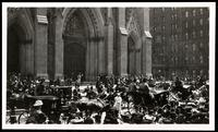 New York City: St. Patrick's Cathedral and Fifth Avenue traffic, undated.