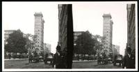 New York City: Chambers Street looking west, undated. Stereograph.