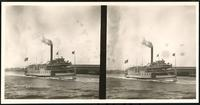 New York City: excursion boat 'Frederick de Bary,' undated. Stereograph.