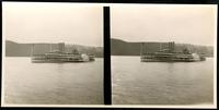New York City: excursion boat 'New York,' undated. Stereograph.