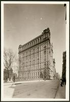 New York City: Trinity Building, 11 Broadway, and Trinity Church graveyard, ca. 1904.