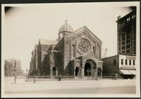 New York City: Unitarian Church, Fourth Avenue and 20th Street, June 2, [the 'Beefsteak Church'], 1908.