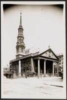 New York City: St. Paul's Church, Broadway and Vesey Street, Aug. 1907.