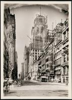 New York City: Singer Building under construction, 149 Broadway, 1907.
