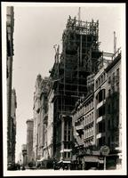 New York City: Singer Building under construction, 149 Broadway, July 1907.