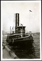 New York City: tugboat 'Osceola,' 1908.
