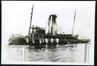 New York City: tugboat 'Fred E. Richards,' 1908.