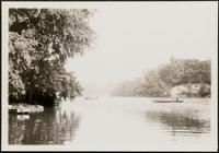 New York City: Central Park, view of the lake at 72nd Street, 1904.