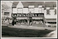 New York City: Max Schwarz's La Primadora Havana Cigars shop in Queens, undated.
